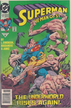 Superman – Man of Steel #17 – a – SOLD