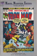 Thanos - Marvel Milestone Iron Man #55 - a