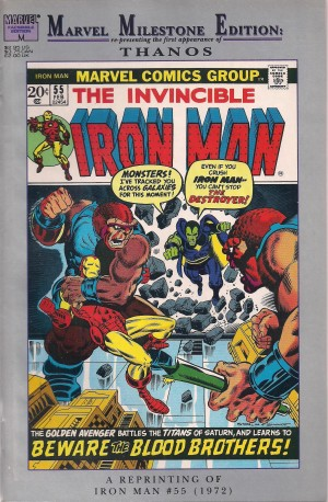 Thanos – Marvel Milestone Iron Man #55 – a