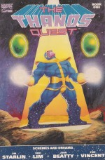 Thanos Quest 1990 #1 - a SOLD 3-29-14