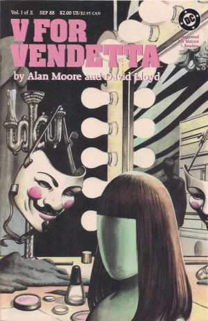 V for Vendetta 1988 #1 – a – SOLD 12-16-13