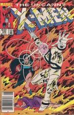X-Men #184 Forge - c
