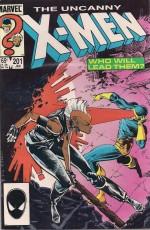 X-Men #201 Cable - a