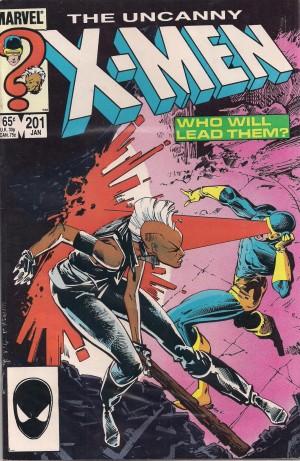 X-Men #201 Cable – a