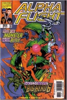 Alpha Flight #17 2nd Series
