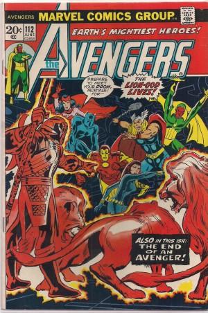 Avengers #112 – a