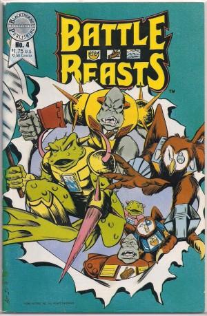 Battle Beasts 1986 #4 – a