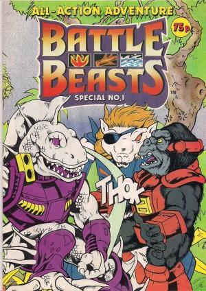 Battle Beasts UK Magazine 1987 – a