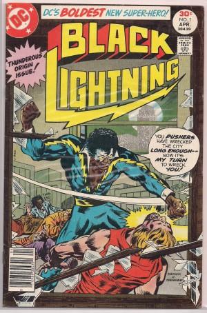 Black Lightning 1977 #1 – a
