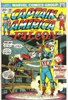 Captain America #168