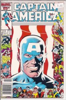 Captain America #323