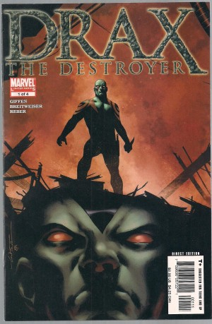 Drax The Destroyer 2005 #1 – a