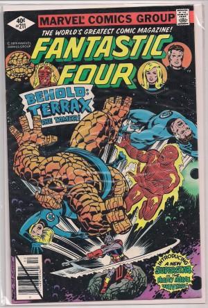 Fantastic Four #211 – a