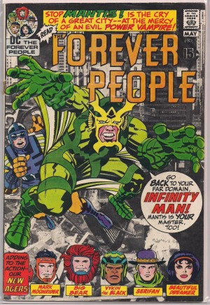 Forever People 1972 #2 – a