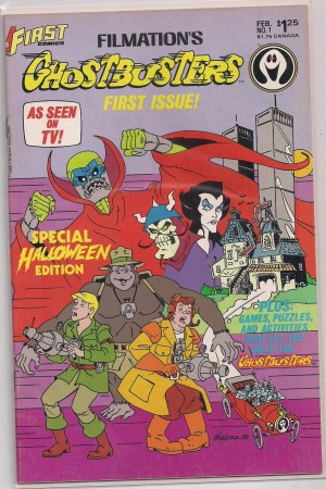 Ghostbusters 1986 #1 – a