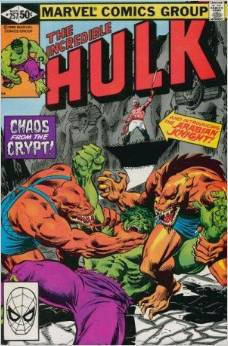 Incredible Hulk #257