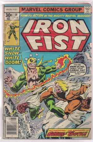 Iron Fist #14 – a