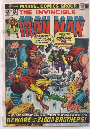 Iron Man #55 – a