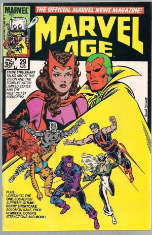 Longshot Preview – Marvel Age #29 – a