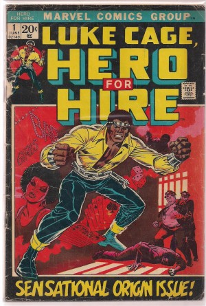 Luke Cage Hero For Hire 1972 #1 – FAIR