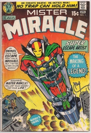 Mister Miracle 1971 #1 – a