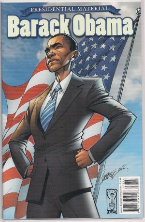 Presedential Material – Barak Obama – a
