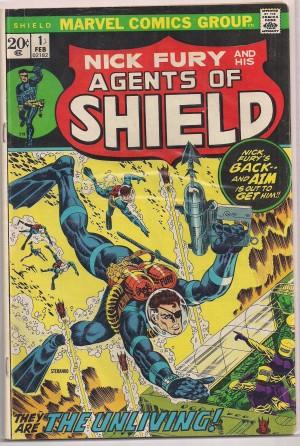 SHIELD – Nick Fury 1973 #1 – a