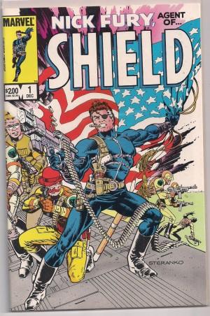 SHIELD – Nick Fury 1983 #1 – a