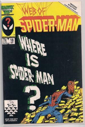 Spiderman, Web of #18 Venom – a