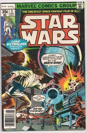 Star Wars 1977 #5 – a