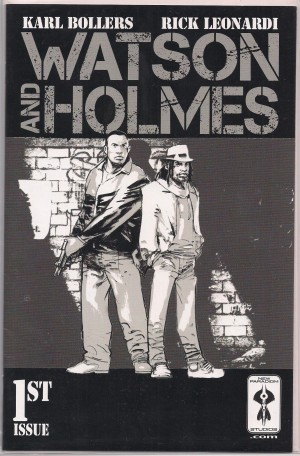 Watson and Holmes 2013 #1 – Cover A – a