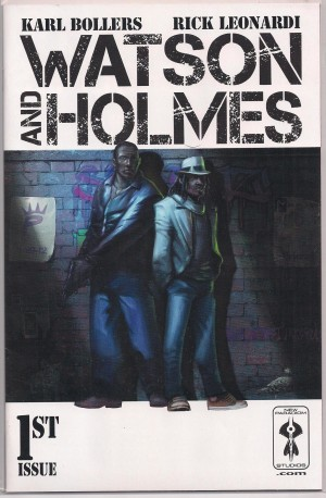 Watson and Holmes 2013 #1 – Cover B – a