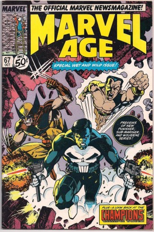 Wolverine 1988 Series Preview – Marvel Age #67 – a