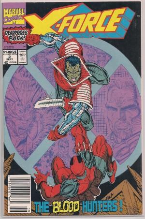X-Force #2 SECOND Deadpool – b