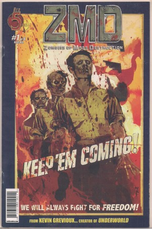 ZMD Zombies of Mass Destruction #1 – a