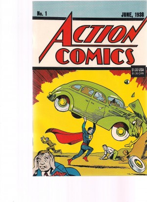 Action COmics 1992 #1 Reprint – a
