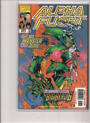 Alpha Flight #17 – a – NM