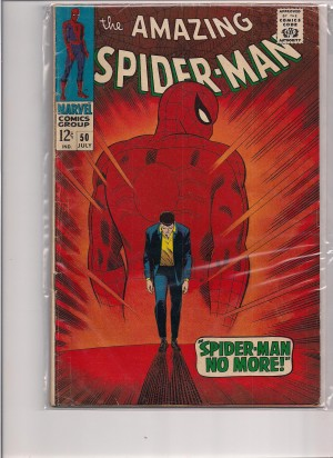 Amazing Spiderman #50 – a