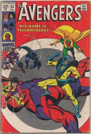 Avengers #59 – a
