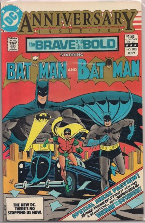 Brave and The Bold #200 – a