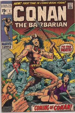 Conan The Barbarian #1 – a