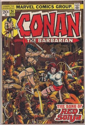 Conan The Barbarian #24 – a