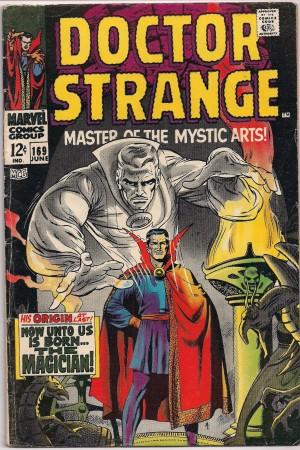Doctor Strange 1968 #169 – a
