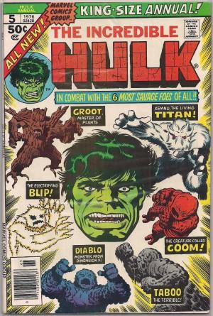 Hulk Annual #5 – a
