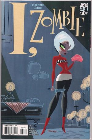 I Zombie 2010 #1b Variant – a