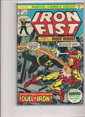 Iron Fist #1 – a