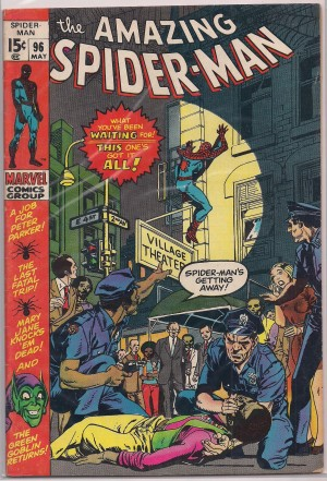 Spiderman #96 – a