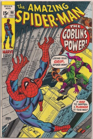 Spiderman #98 – a