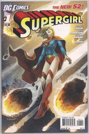Supergirl V6 #1 – a
