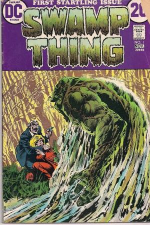 Swamp Thing V1 #1 – a